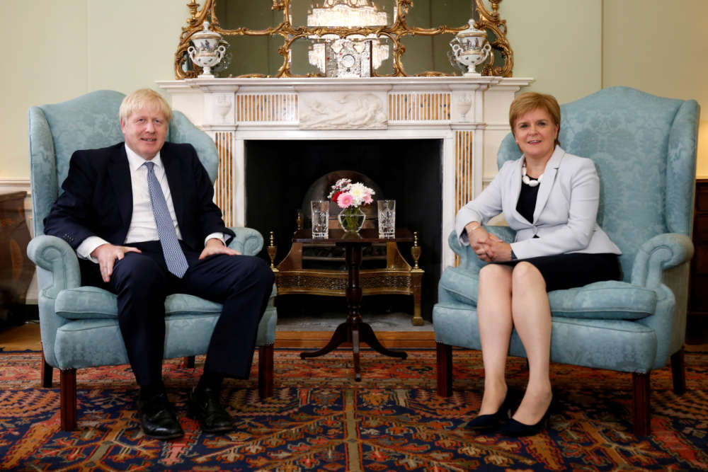 UK PM Johnson must accept another Scottish independence vote - Sturgeon
