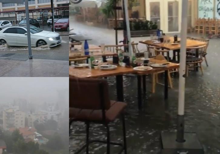 Fire service responds to dozens of calls as Nicosia floods from heavy rain (video)