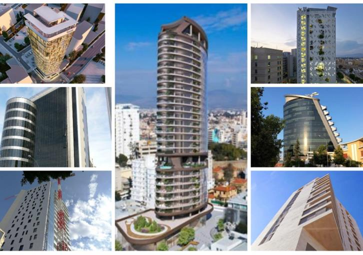 Nicosia's high-rise buildings