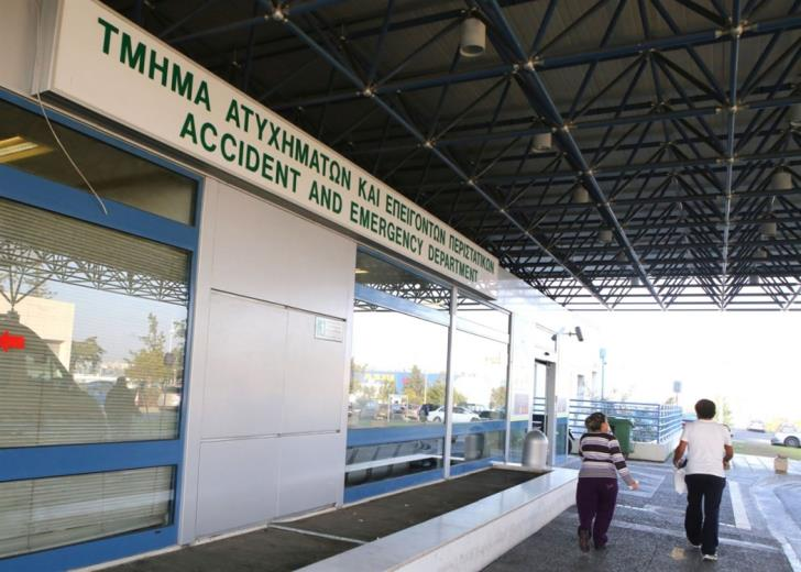 Long waits at Nicosia Hospital emergency department