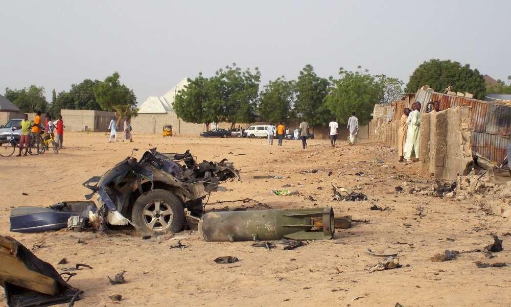 Dozens killed in Nigeria suicide blasts