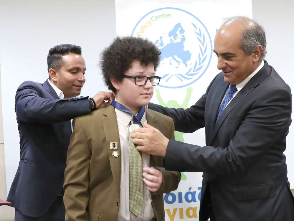 UK Cypriot anti-bullying activist receives