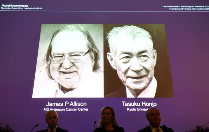Scientists behind game-changing cancer immunotherapies win Nobel medicine prize