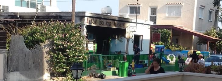 Update: Arson suspected after Larnaca kindergarten gutted by fire
