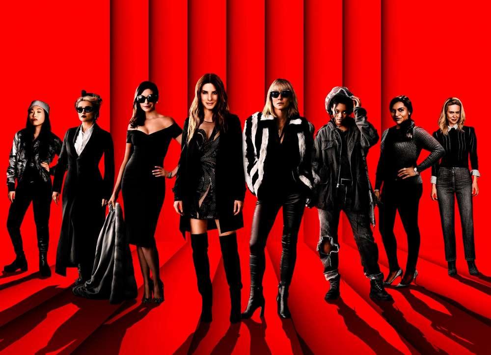 Ocean's 8 avant premiere with Kiss Fm