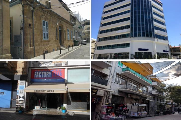 Properties in Nicosia within the walls on sale to cover debt
