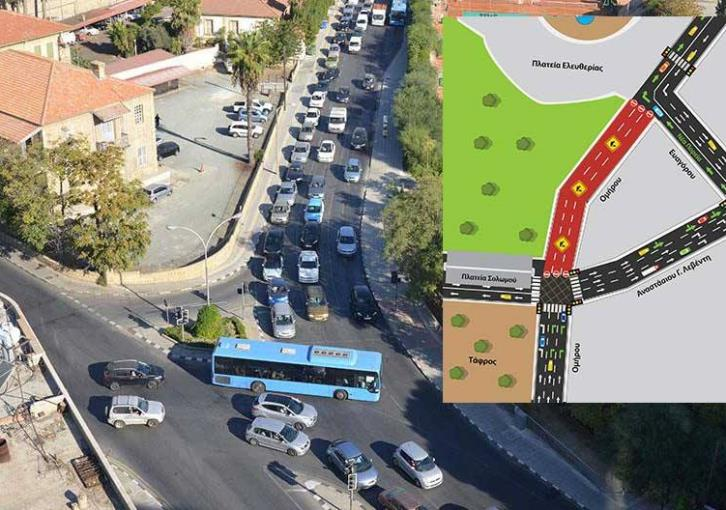 Nicosia: Omirou avenue to close for 16 months due to underground parking construction