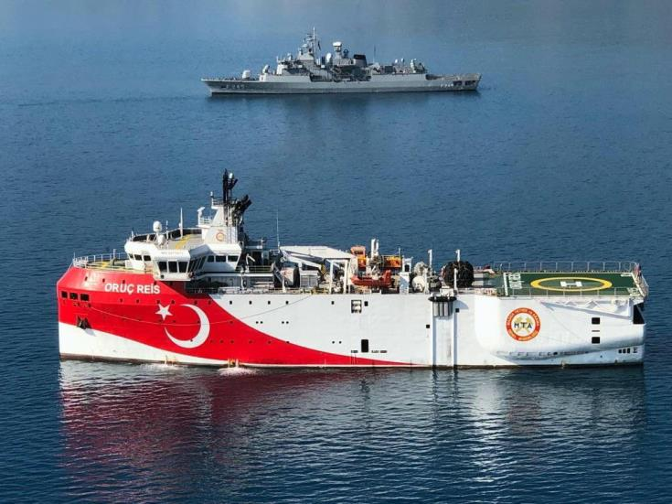 Turkish research vessel sails towards EEZ blocks 4 and 5 off Cyprus