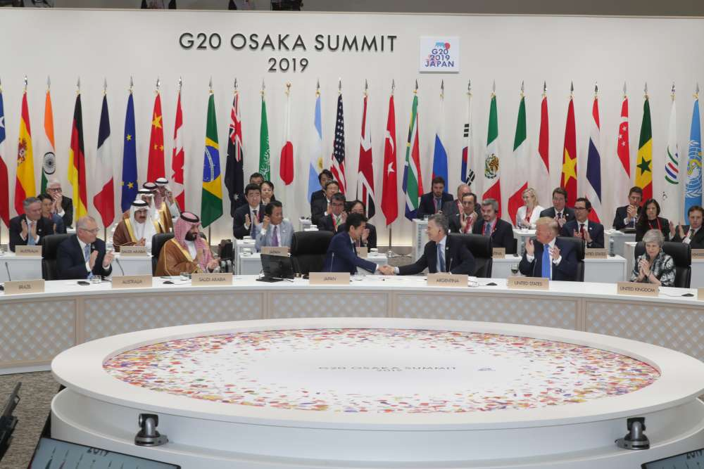 G20 stops short of denouncing protectionism