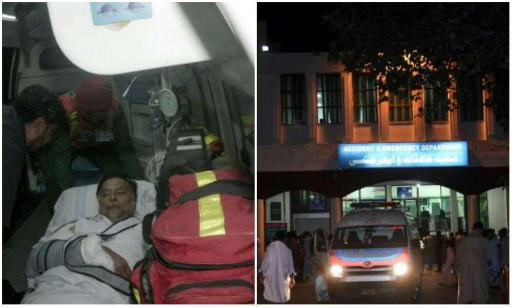 Gunmen battle security forces in five-star hotel in Pakistan - officials
