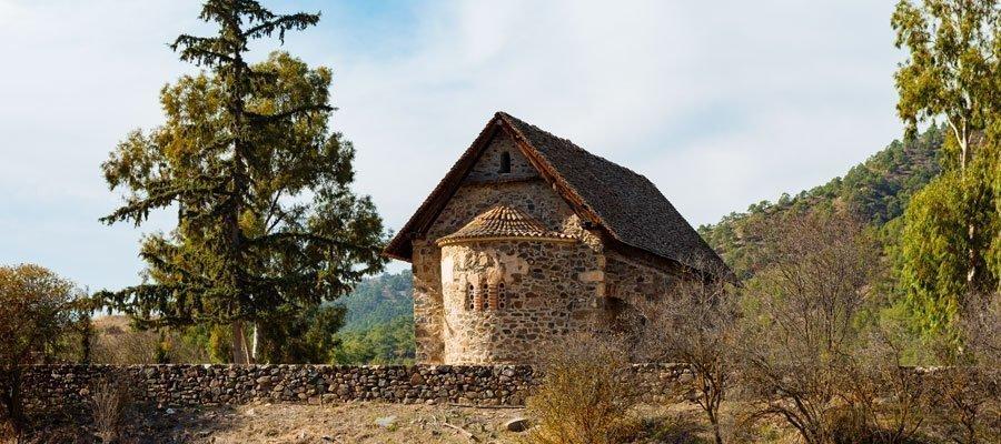 Panayia Asinou Church in Nikitari village