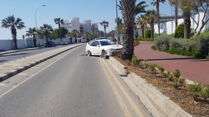 Paphos: Pedestrian fatally injured by car while walking on pavement
