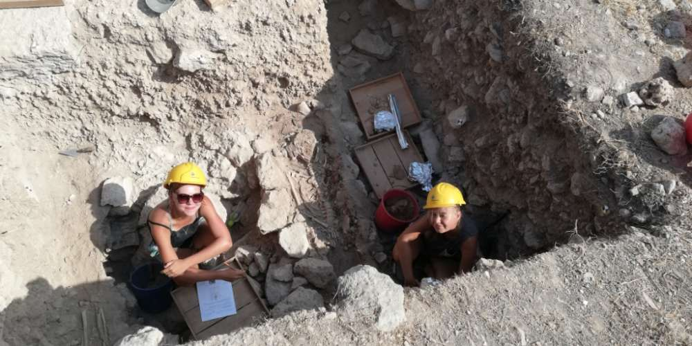 'Unexpected' discovery of skeletal burials at Paphos Agora excavations