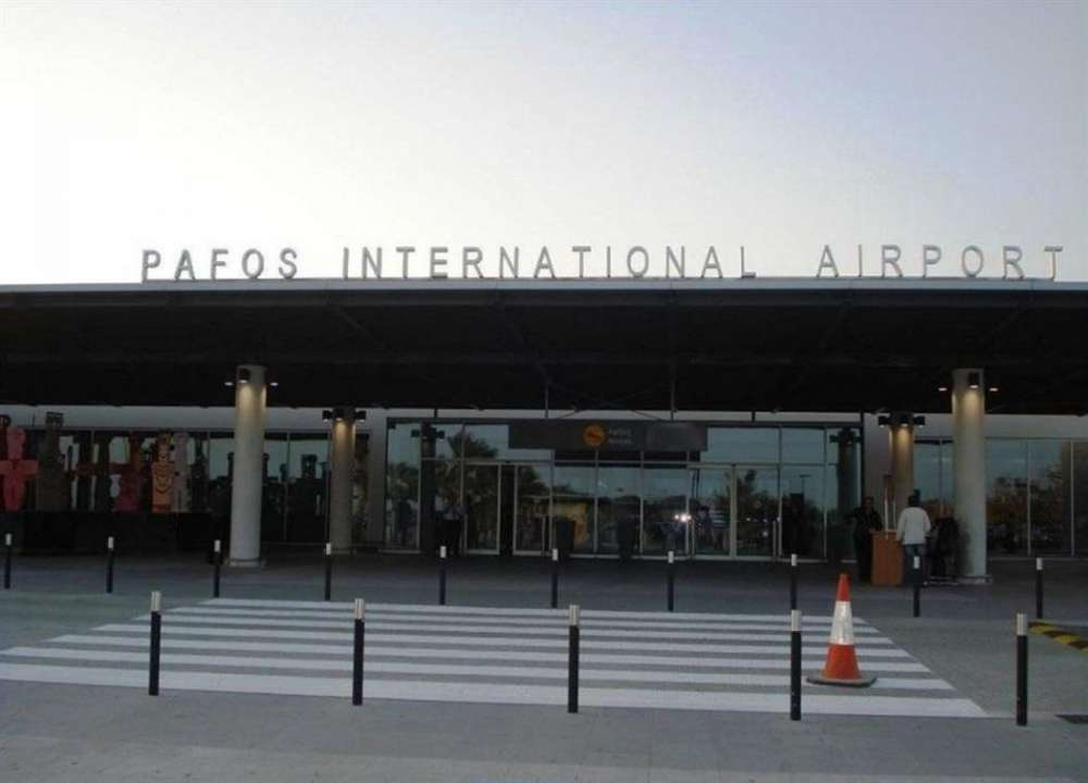 Private jet in unscheduled landing at Paphos Airport