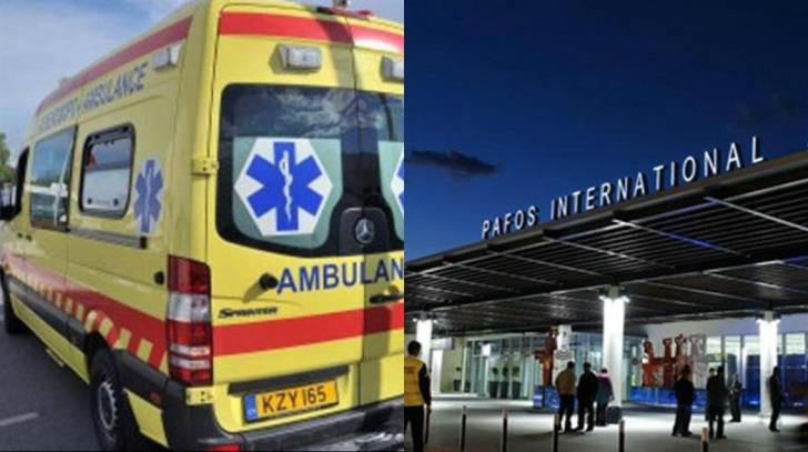 Man found dead at Paphos airport bathroom