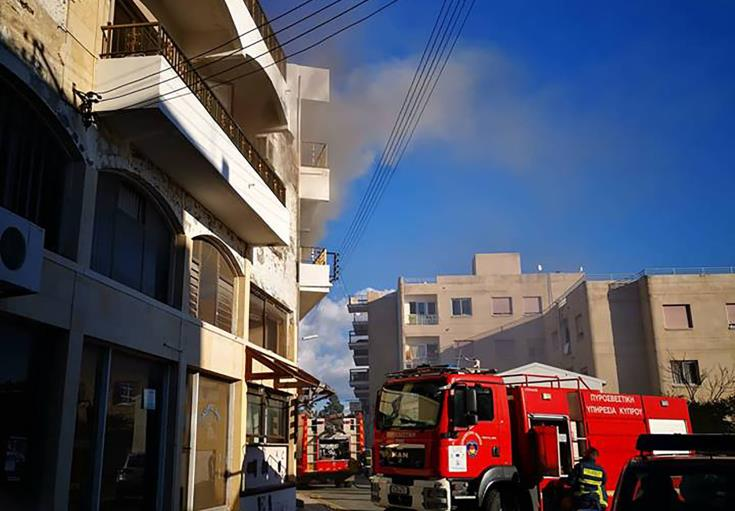 Update: Fire breaks out in Paphos apartment - person arrested