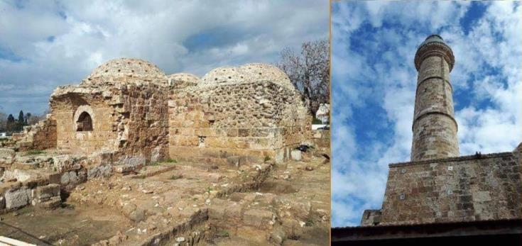 Ceremony marks completion of restoration works at Paphos hamam and minaret