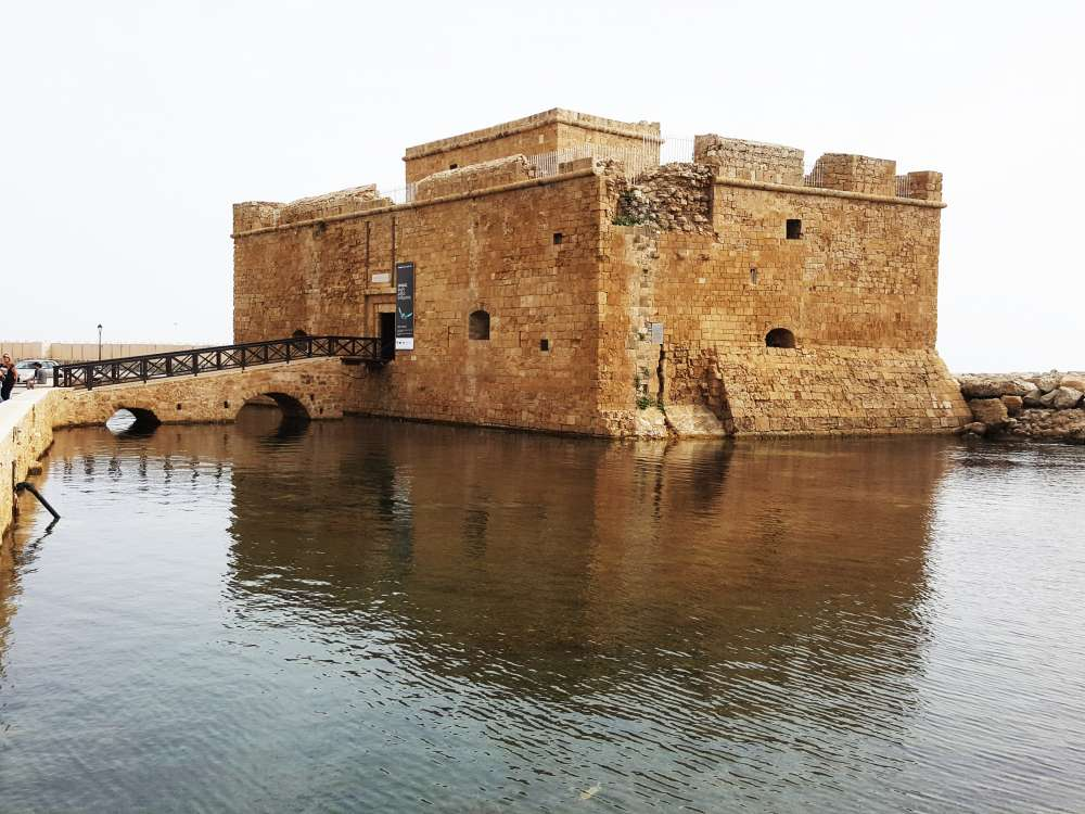 Paphos Castle to close to upgrade lighting
