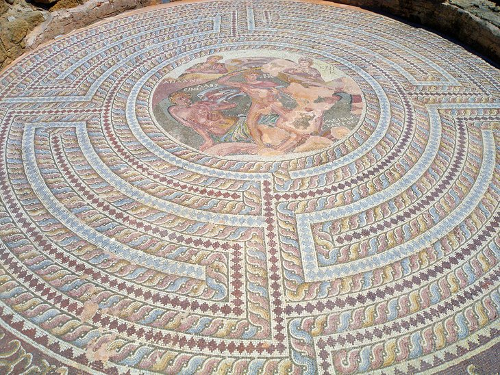 Paphos mosaics included in new Getty Trust initiative to preserve antiquities