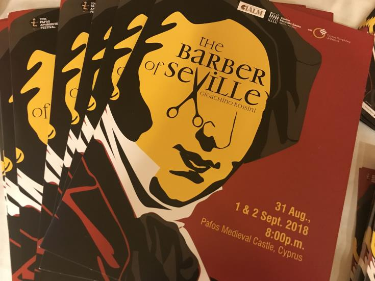 The Barber of Seville at 20th Pafos Aphrodite Festival