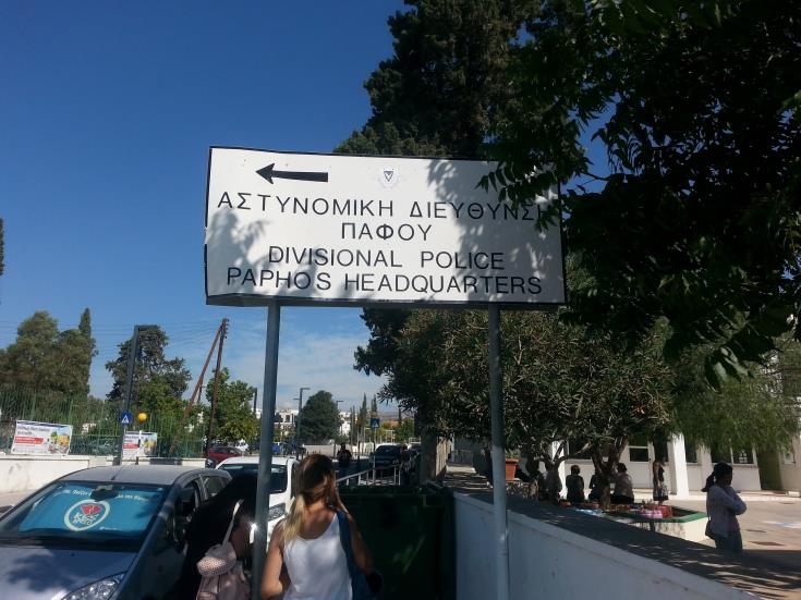 Paphos driver arrested for drunk driving after two collisions
