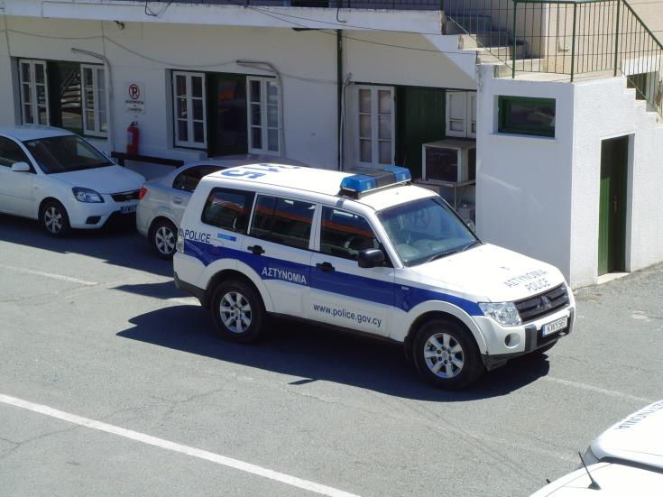 Reckless driver arrested after series of collisions in Paphos