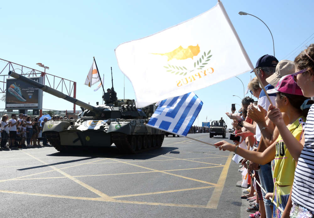 Cyprus marks independence day with military parade (photos)