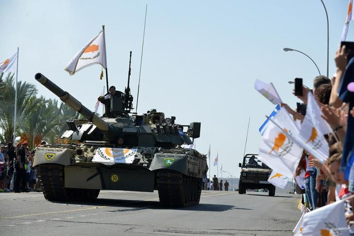 Cyprus government spending on defence as share of GDP fourth highest in EU