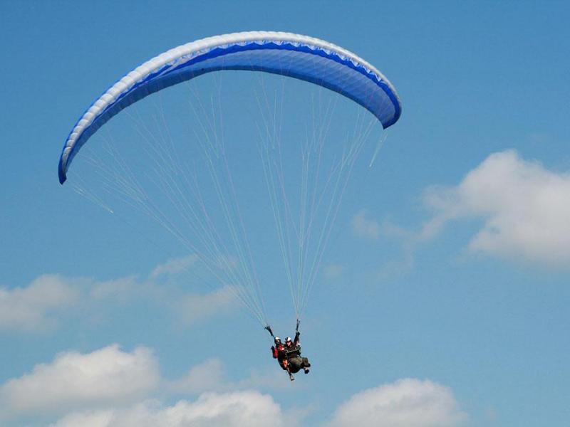 Paragliding in Kalo Chorio