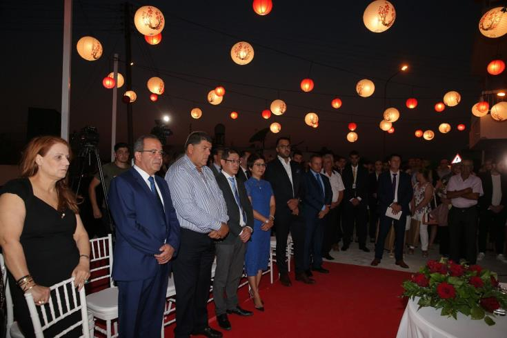 Chinese Jim Chang Group opens its headquarters in Paralimni