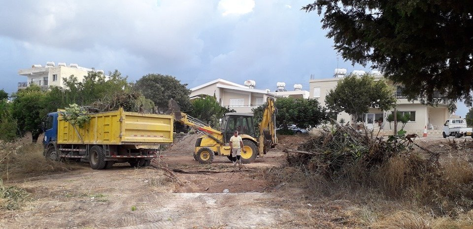 Work underway to create Paphos' biggest urban park