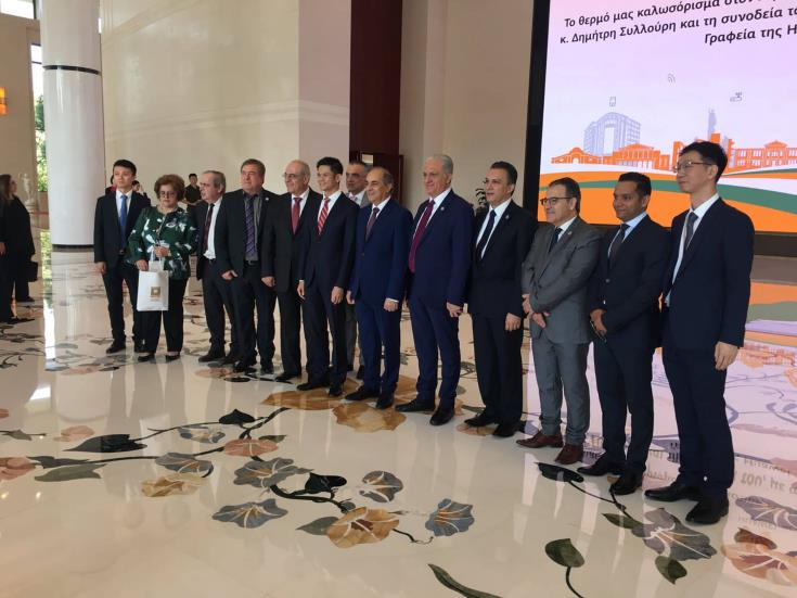 Cypriot delegation in Shenzhen meets giant Chinese technological envoys