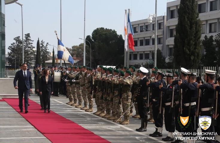 Parly: France supports Cyprus against Turkish provocations