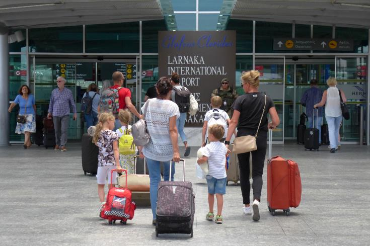 More people arrived and departed from Cyprus in June