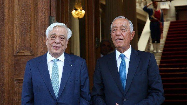 Portugal's President Marcelo Rebelo de Sousa to meet Pavlopoulos