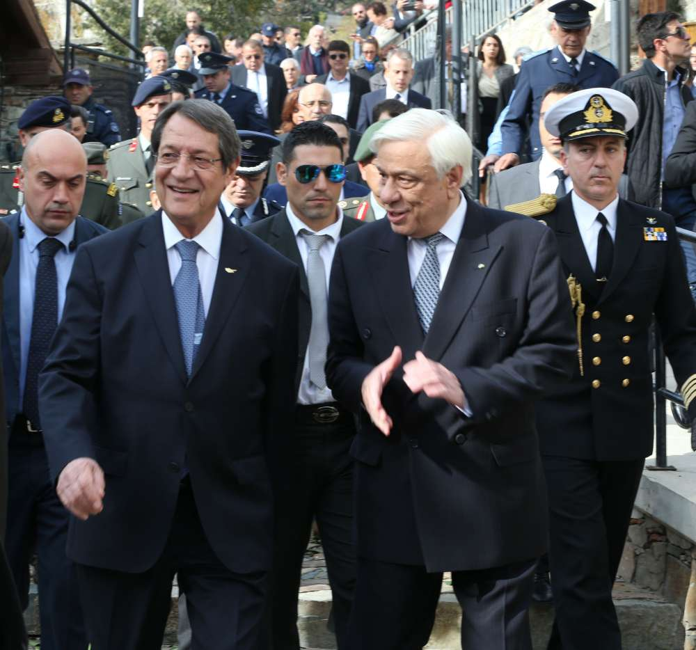 Greek president: Cyprus solution cannot diverge from international and European law