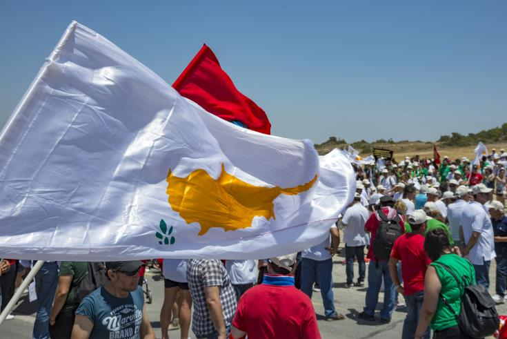 Pancyprian Peace March sends message of peace to Cyprus and the world