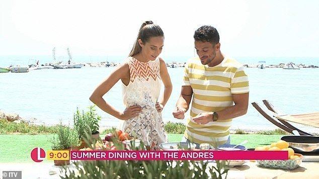 Peter Andre shares pork souvlaki recipe from Cyprus (video)