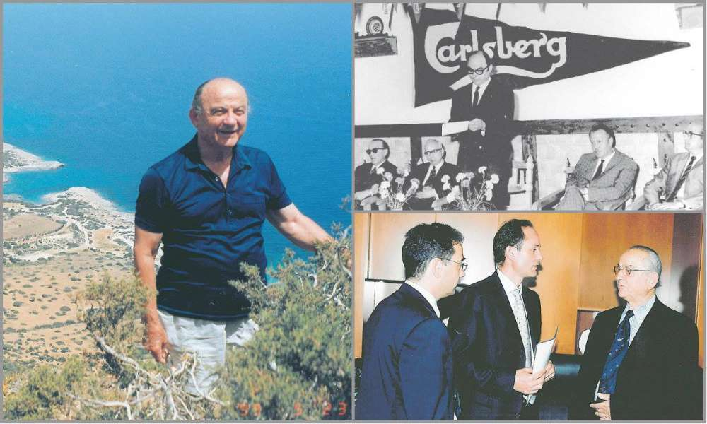 Prominent businessman Photos Photiades dies
