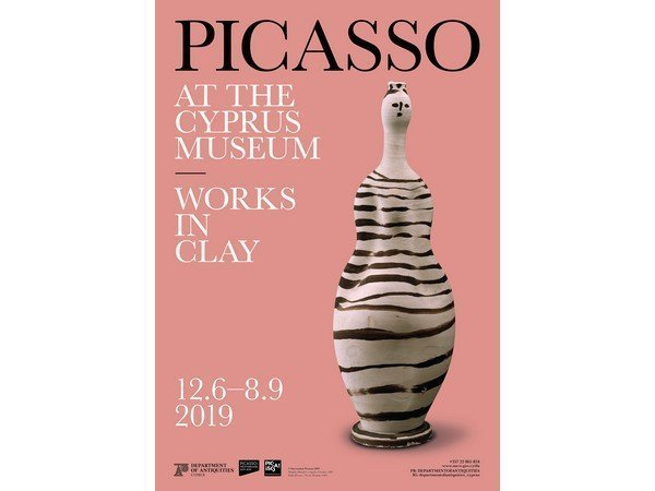 Picasso at the Cyprus Museum. Works in Clay