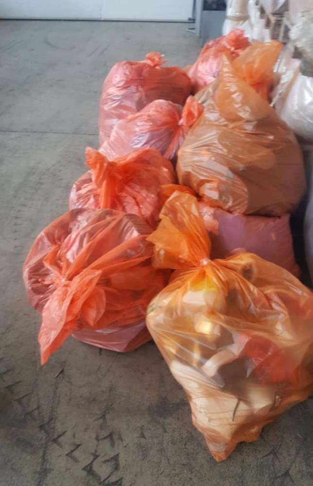 Customs confiscate pirated brand name clothing