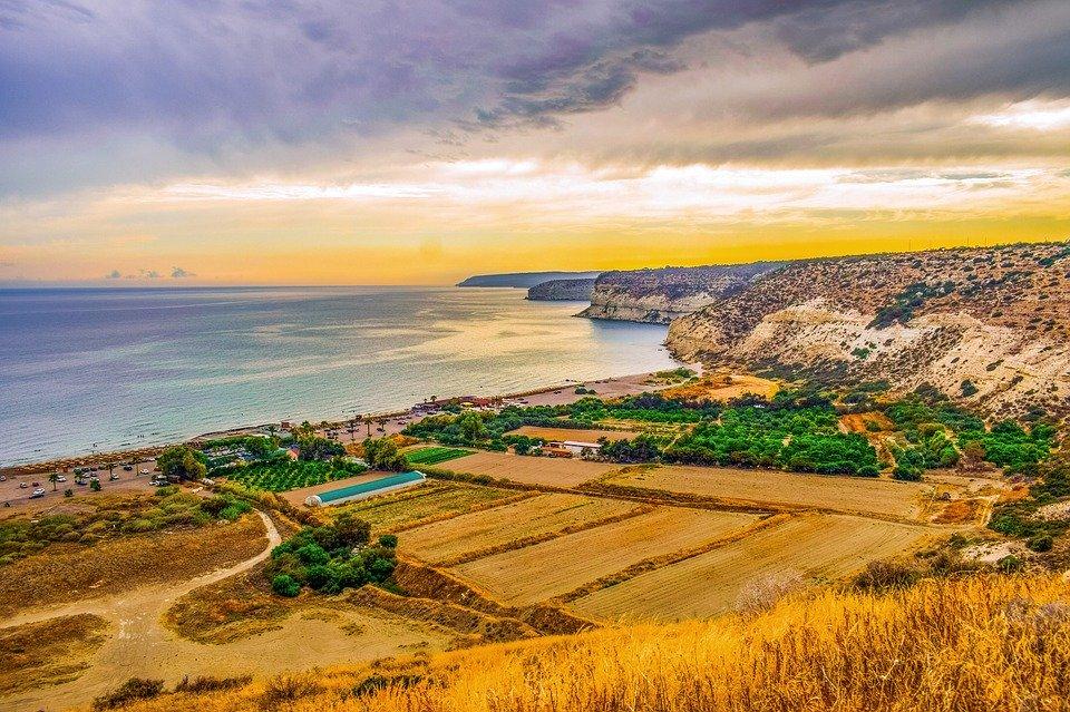 Charming palette of Pissouri Bay