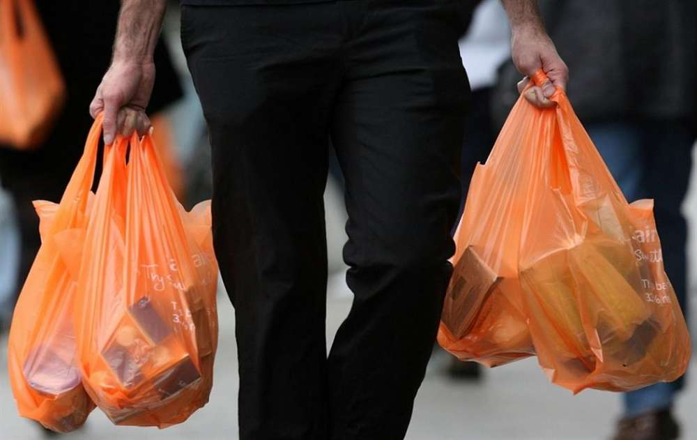 Customers to be charged for plastic bags from Sunday July 1
