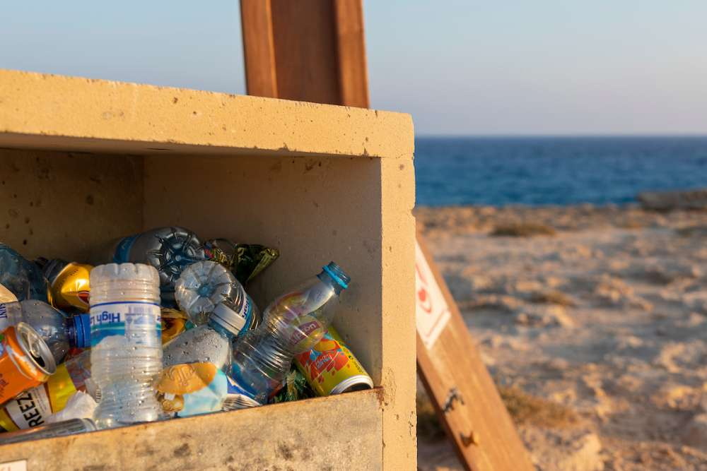 Bid to keep sand and sea plastic free in Cyprus
