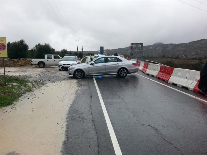 Section of Paphos-Polis road closed for 2 months for repairs