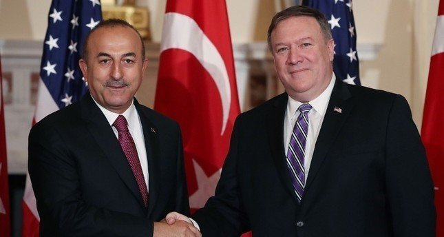 Turkish foreign minister discusses defense