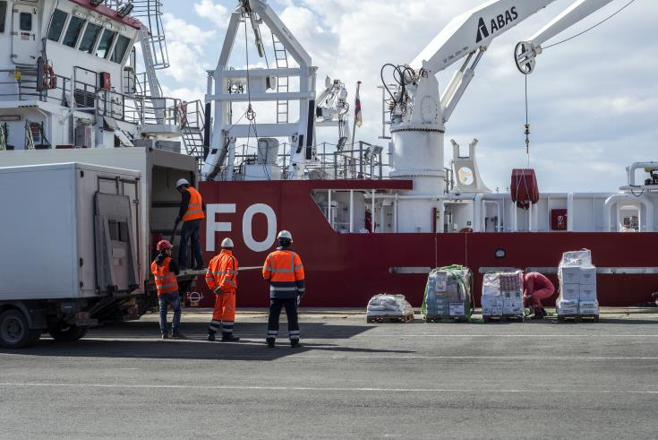 Update: Work stoppage at Limassol port terminal ends