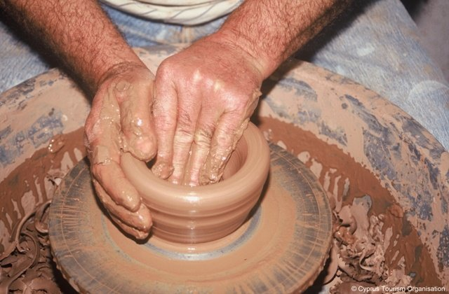 Pottery Sessions in Larnaka