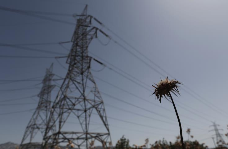 Power cut in areas affected by Akrounta fire