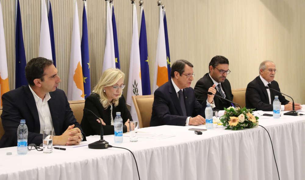 Coronavirus: Full text of President Anastasiades' speech on new measures